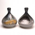 Salzbehälter offen mit Aufdruck -  Fleur de Sel