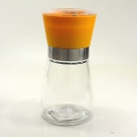 Meersalzmühle mit Keramikmahlwerk - orange