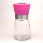 Meersalzmühle mit Keramikmahlwerk - pink