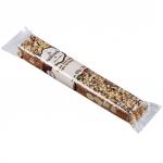 Torrone (italienischer Softnougat) - Schokolade und Haselnuss
