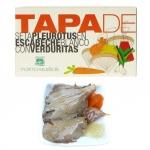 TAPA - Seta Pleurotus con Verduritas