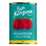 San Marzano Tomaten ganz und geschält