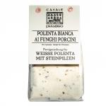 Polenta bianca ai funghi porcini (mit Steinpilzen)
