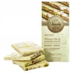 Weiße Schokolade mit gesalzenen Nüssen