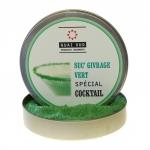 Grüner Zuckerrand für Cocktails